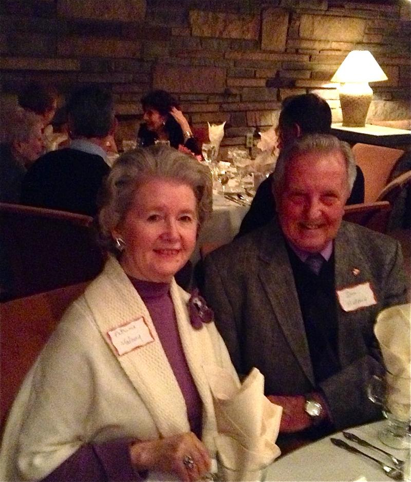 Mrs. and Mr. Don Maloney of Moon. Don serves as the Treasurer of the Old Moon Township Historical Society.